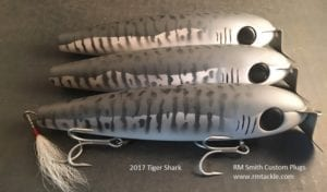 RM Smith Custom Plugs - 2017 Tiger Shark Giant Swimmer