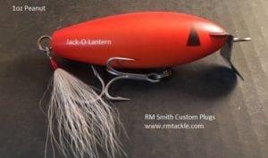 RM Smith Custom Plugs - Peanut Swimmer